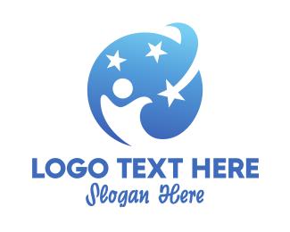 Church - Star Kid logo design