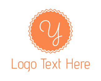 Stamp - Peach Y Stamp logo design