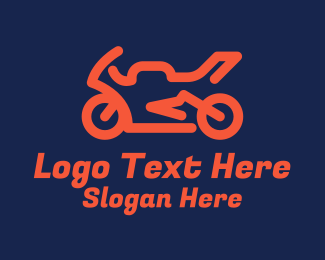 Sports - Motorcycle Racing Sports logo design