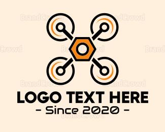 Yellow - Yellow Drone logo design