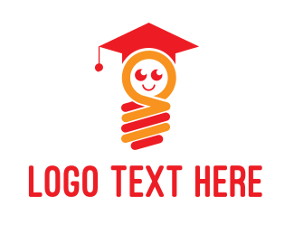 Graduation - Bright  Student logo design