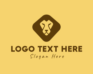 Lion Head - Lion Face logo design