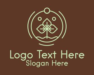 Life - Minimalist Plant Seedling logo design