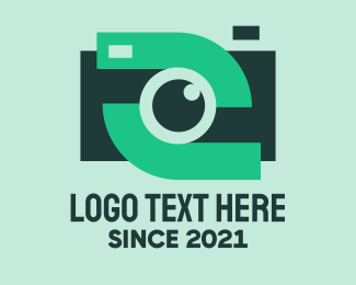 Vlogger - Instagram Video Camera logo design