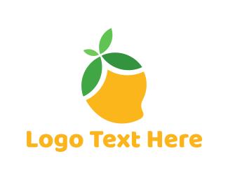 Filipino - Yellow Mango logo design