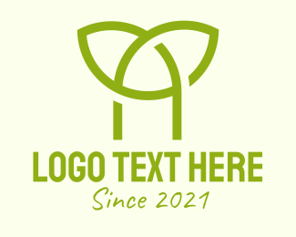 Sprout - Green Sprout Letter A logo design