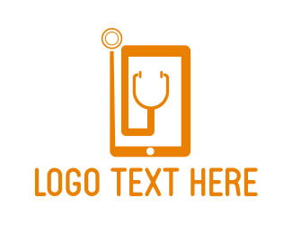 Mobile Phone - Medical Phone logo design