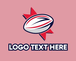 """Rugby Sport Emblem"" by podvoodoo13"