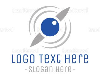 Chopper - Drone Eye logo design
