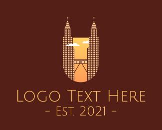 Southeast Asia - Petronas Twin Tower logo design