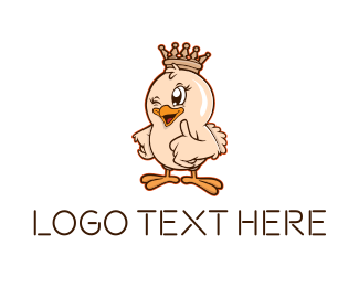 King - King Chicken logo design