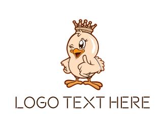 Chicken - King Chicken logo design