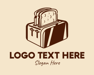 Home Appliances - Bread Toaster Appliance  logo design