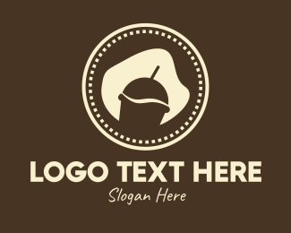 Coffee Stand - Coffee Smoothie Drink logo design