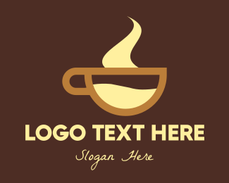 Hot Chocolate Beverage Logo