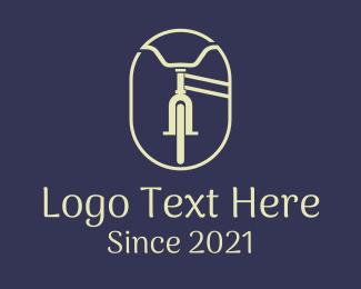 Professional Biker - City Bicycle Tour logo design