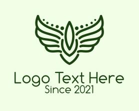 Authority - Winged Military Badge logo design