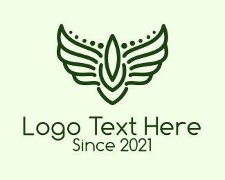 Military - Winged Military Badge logo design