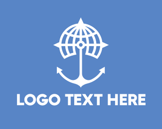 Oceanic - World Anchor logo design