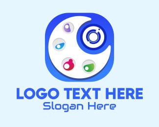 Filter - Camera Art Palette App  logo design