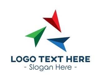 Multicolor - Multicolor Arrow Cursors logo design