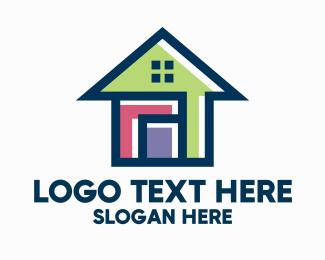 Simple - Simple Small Housing logo design