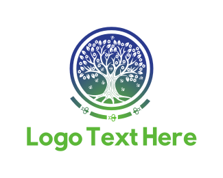 Bumblebee - Honey Tree logo design