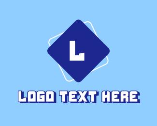 Cyber Cafe - Futuristic Gamer Letter logo design