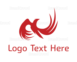 Austrian - Red Phoenix logo design