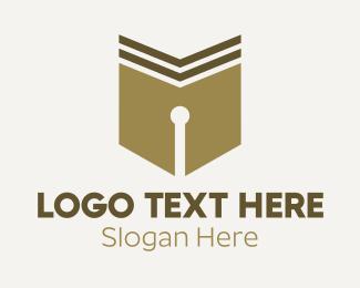 Calligraphy - Classic Pen Calligraphy logo design