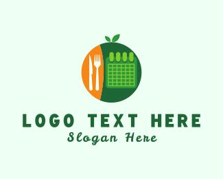 Calendar - Diet Planner logo design