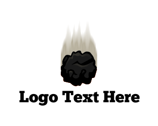 Coal - Black Meteor logo design
