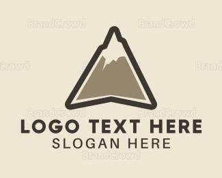 Aspen - High Peak logo design