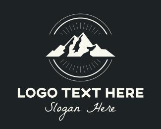Peak - Outdoor Mountain Peak logo design