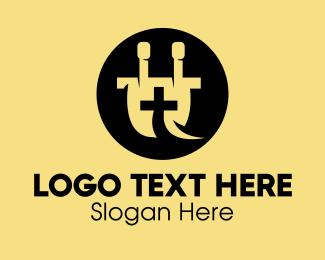 Medtech - Medical Electric Plug  logo design