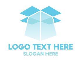 Light - Blue Box Light logo design