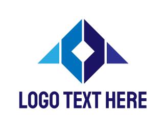 Edge - Blue Cube Gaming logo design
