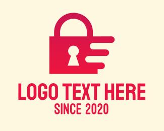 Locked - Digital Security Lock logo design