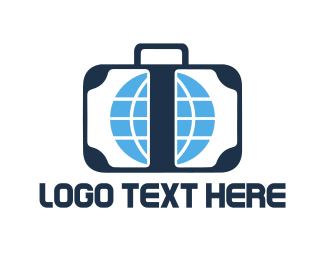 Luggage - Travel Luggage logo design