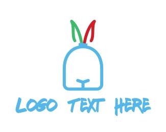 Chase - Rabbit Face logo design