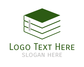 Teaching - Green Books logo design