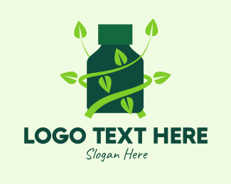 Alternative - Green Alternative Tonic logo design