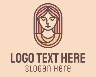 Beauty - Female Goddess Beauty logo design