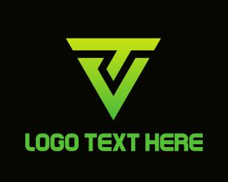 Link - Tech Shield logo design