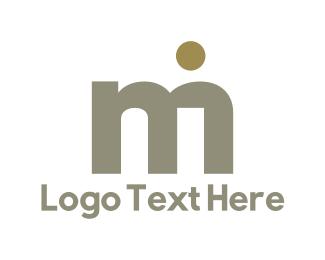 Manufacture - M & I logo design