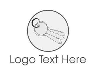 Key - Key Circle logo design