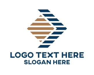 Trading - Stripes Trading Business logo design