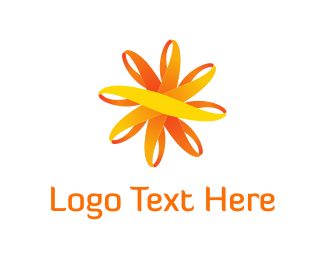 Sustainable Energy - Sun Flower logo design