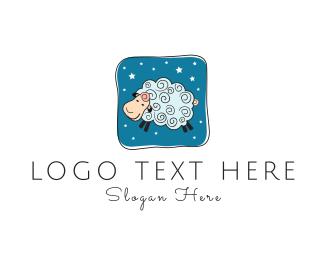 Dream - Blue Sheep logo design