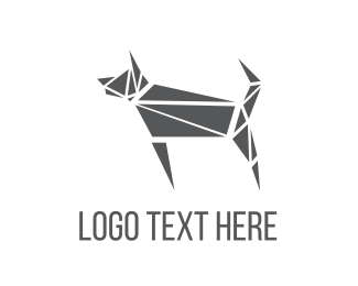 Puzzle - Abstract Puzzle Dog logo design